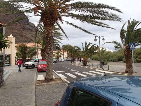 Veel wind in Valle Gran Rey