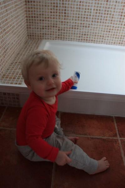 9-4 tijd om te douchen