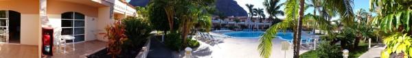panorama zwembad mobiel